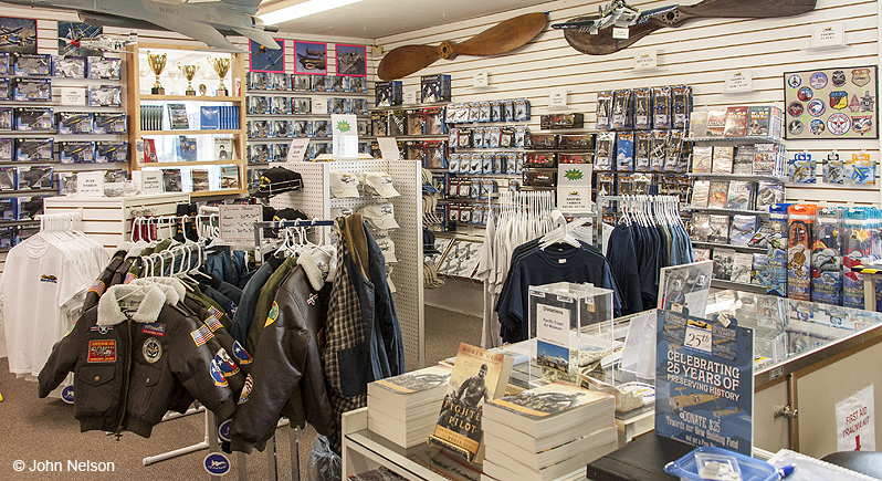 Visit the gift shop located at the Pacific Coast Air Museum. We carry a variety of aviation-themed clothing, hats, models, toys, and memorabilia of your ...