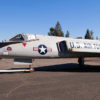 F-106 Delta Dart being towed to its position at the Wings Over Wine Country Air Show.