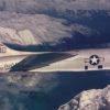 U.S. Navy photo of an RF-8G Crusader in flight