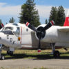 S-2 Tracker fire-fighting fire bomber aircraft at the Pacific Coast Air Museum.