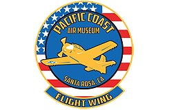 Logo of the Flight Wing of the Pacific Coast Air Museum