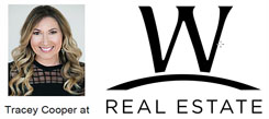 Tracey Cooper at W Real Estate corporate logo