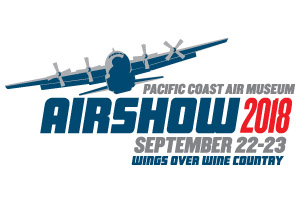 2018 Wings Over Wine Country Air Show logo