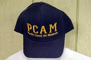 blue Pacific Coast Air Museum ball cap
